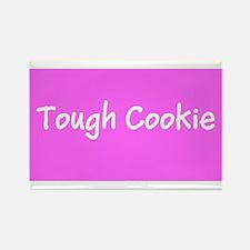 Tough Cookie Breast Cancer Pink Designer Magnets
