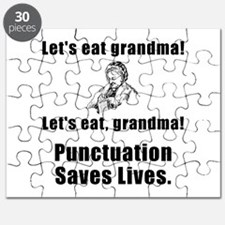 Lets Eat Grandma! Puzzle