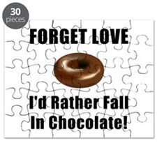 Forget Love Chocolate Puzzle