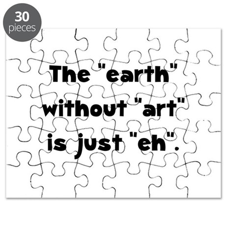 Earth Without Art Puzzle