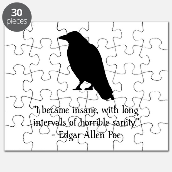 Edgar Allen Poe Quote Puzzle