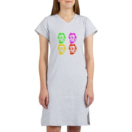 Lincoln Warhol Women's Nightshirt