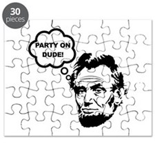 Lincoln Party On Puzzle