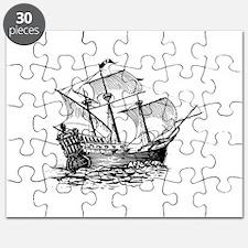 Galleon Ship Puzzle