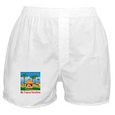 Tropical Vacations Boxer Shorts