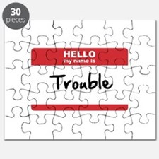 Hello My Name Is Trouble Puzzle