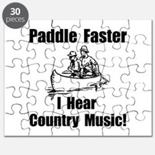Paddle Faster Country Music Puzzle