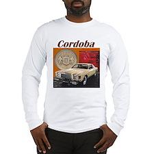 1978 Chrysler Cordoba Design Long Sleeve T-Shirt
