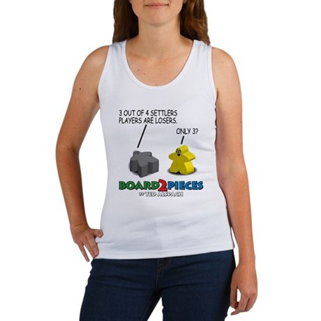 3 out of 4 Settlers Players.. Women's Tank Top