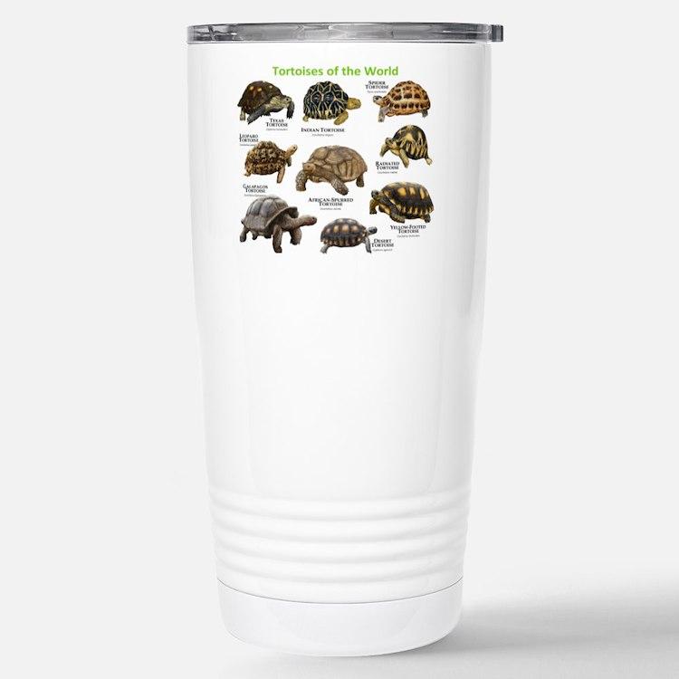 Tortoises of the World Travel Mug