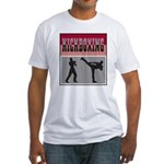 Kick boxing Fitted T-Shirt