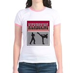 Kick boxing Jr. Ringer T-Shirt