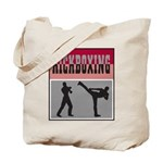Kick boxing Tote Bag