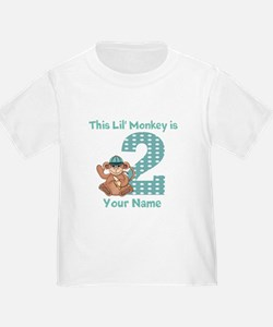 2nd Birthday Monkey T