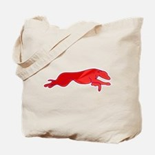 Greyhound Outline multi color Tote Bag