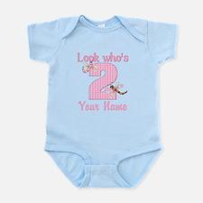 2nd Birthday Dragonfly Infant Bodysuit