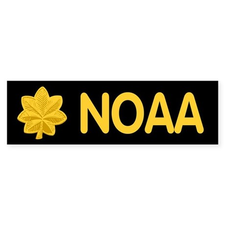 NOAA Lieutenant Commander<BR> Bumpersticker 1