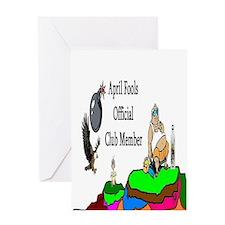 April Fools Member Greeting Card