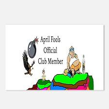 April Fools Member Postcards (Package of 8)