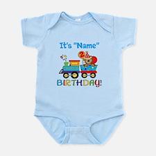 2nd Birthday Bear Train Infant Bodysuit