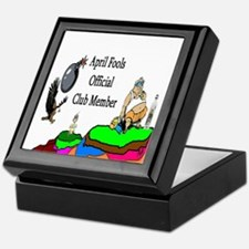 April Fools Member Keepsake Box