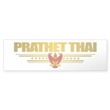 """Thai Flag"" Bumper Sticker"