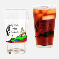 April Fools Member Drinking Glass