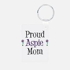 Proud Aspie Mom Keychains