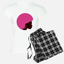 Pink Afro Pajamas