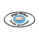 Pigs Make Pork Awesome Patches
