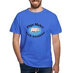 Pigs Make Pork Awesome Dark T-Shirt