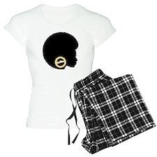 Black Afro Bling Pajamas
