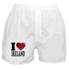 I Heart Ireland Boxer Shorts