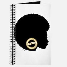 Black Afro Bling Journal