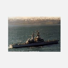USS TEXAS Rectangle Magnet
