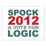 Spock 2012 Small Poster