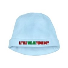 Little Welsh Tough Guy baby hat