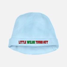Little Welsh Tough Guy baby hat
