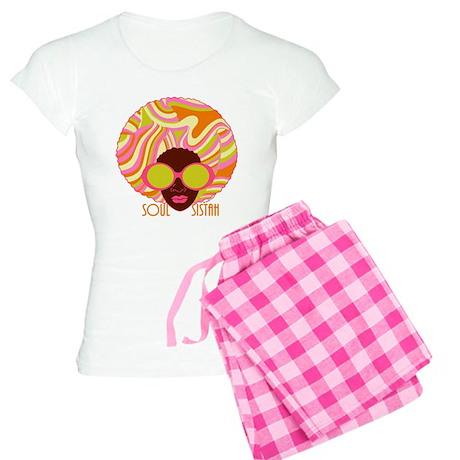Soul Sistah Brown Women's Light Pajamas