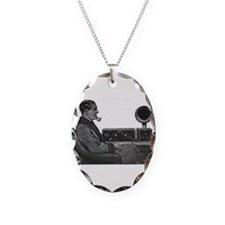 Old Time Radio Listener Necklace