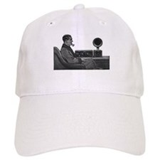 Old Time Radio Listener Baseball Baseball Cap