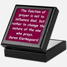 Cute Kierkegaard Keepsake Box