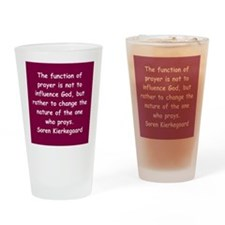 Cute Proverb quotation Drinking Glass