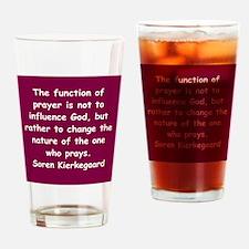 Cute Wisdom Drinking Glass