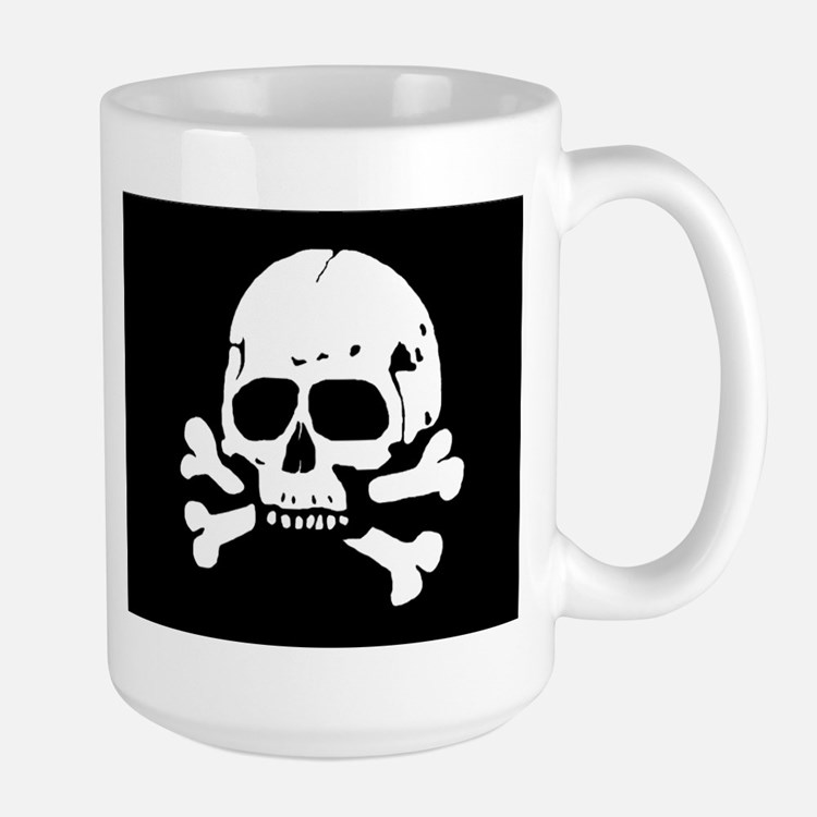 Totenkopf V Large Mug