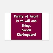 kierkegaard 22x14 Wall Peel