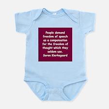 kierkegaard Infant Bodysuit