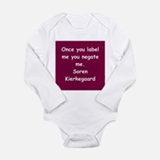 kierkegaard Long Sleeve Infant Bodysuit