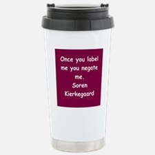 kierkegaard Travel Mug