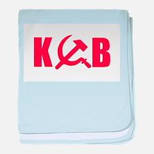 KGB baby blanket